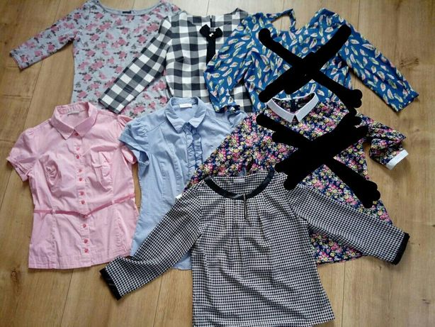 Wyprzedaż bluzka bluzki koszulowe Dykon Novum Orsay 38/40/42