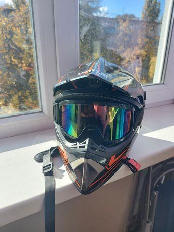 Кросс ендуро мото шлем