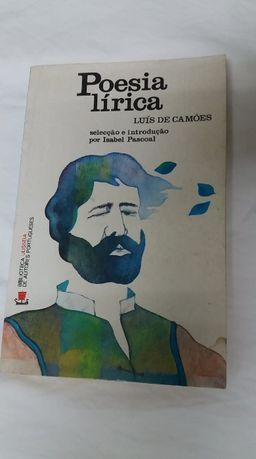"""Livro """" Poesia Lírica"""" de Luís de Camões, Isabel Pascoal, Ulisseia"""