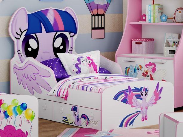 Кроватка для девочки в НАЛИЧИИ Литл Пони Пинки Пай Little Pony Искорка