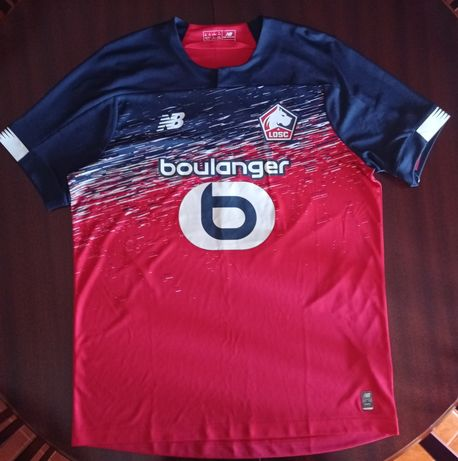 Lille OSC 2019-20 Home Shirt signed by José Fonte