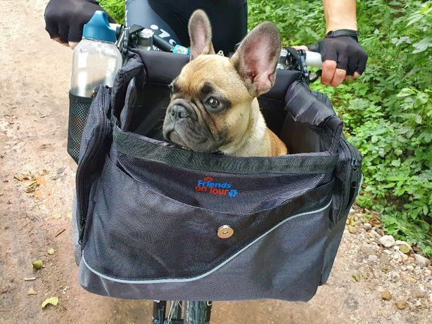 Koszyk na rower dla psa Do roweru torba na psa