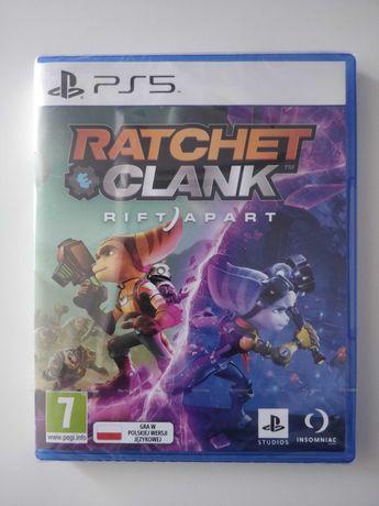Ratchet Clank Rift Apart Playstation 5 PS5 okazja NOWA FOLIA
