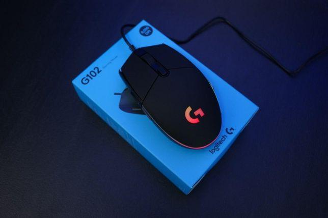 Logitech G102 Игровая мышка Мишка с подсветкой Мышь проводная