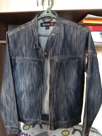 Джинсовый пиджак для подростка