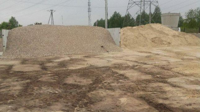 Piach Budowlany Płukany Wylewki Leśny Tynki Fundamenty Żwir Kruszywa