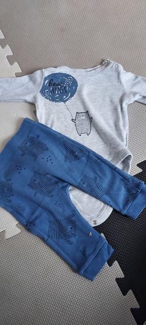 Komplet body spodnie, f&f 68