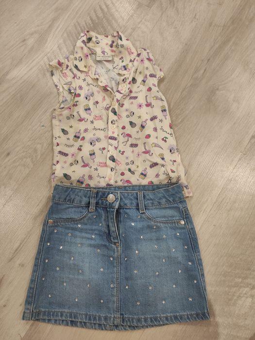 Юбка джинс блуза zara mango hm waikiki костюм Полтава - изображение 1