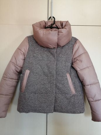 Продам зимнюю тёплую куртку р. 44-46+шапка в подарок!