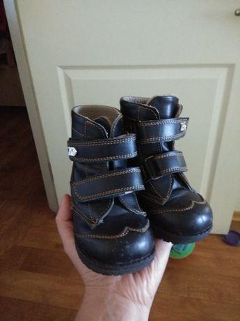 Ботинки детские. Кожаные. 21 размер