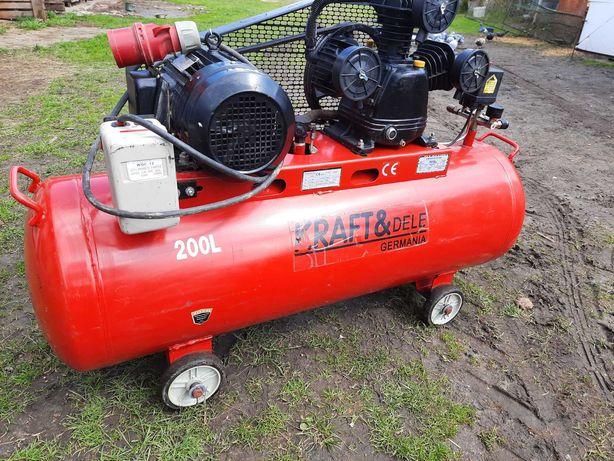 KOMPRESOR KD408 olejowy 200L