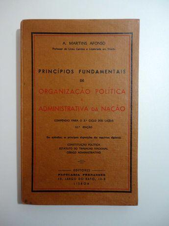 """""""Princípios Fundamentais de Organização Política e Administrativa ..."""""""