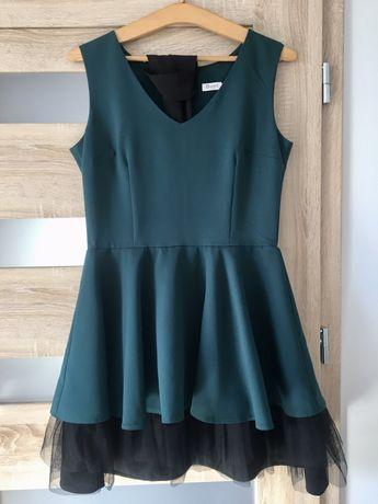 Rozkloszowana sukienka , rozmiar 40