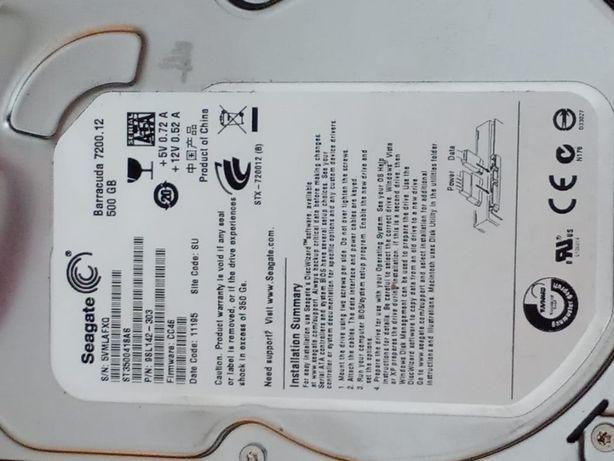 Продам жёсткий диск HHD 500 Gb