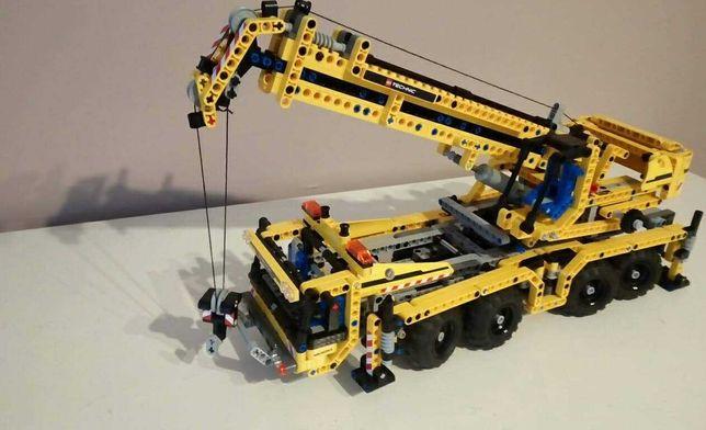 Lego Technic 8053 żółty dźwig