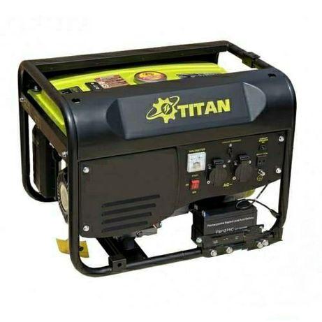 Бензиновый генератор Титан PGG6500E1 (5.5 кВт)