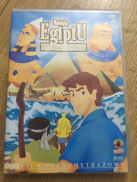 Płyta DVD bajka film animowany książę egiptu