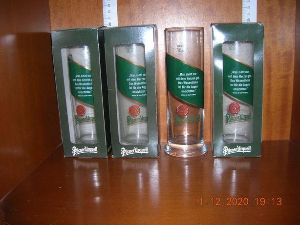 Pilsner Urquell - kolekcja szklanek i kufli