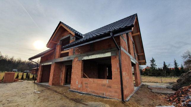 Budowa domów od podstaw, usługi ogólnobudowlane, elewacje