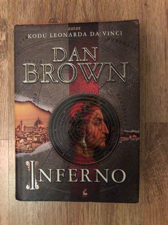 "Książka ""Inferno"" DAN Brown"