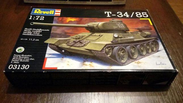 Model plastikowy T-34/85 1:72 Revell