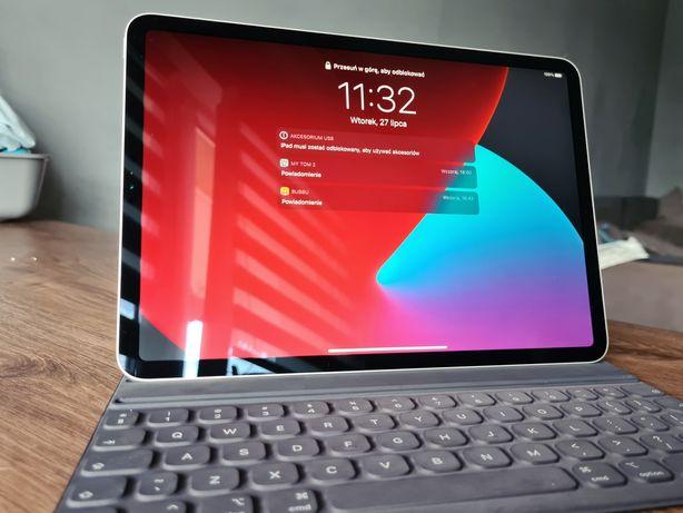 "Apple Ipad pro 11"" 256GB +Smart keyboard folio stan idealny"