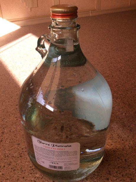 Стеклянная бутыль недорого
