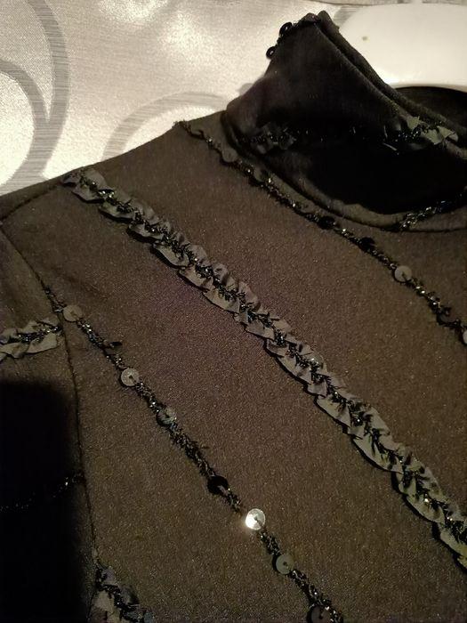 Bluzka czarna cekiny Wejherowo - image 1