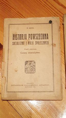 1923r.Historja Powszechna Socjalizmu i Walk Społecznych
