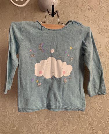 Свитшот свитер реглан H&M 1-3 года