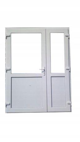 DRZWI Zewnętrzne PCV Sklepowe KACPRZAK 140x210