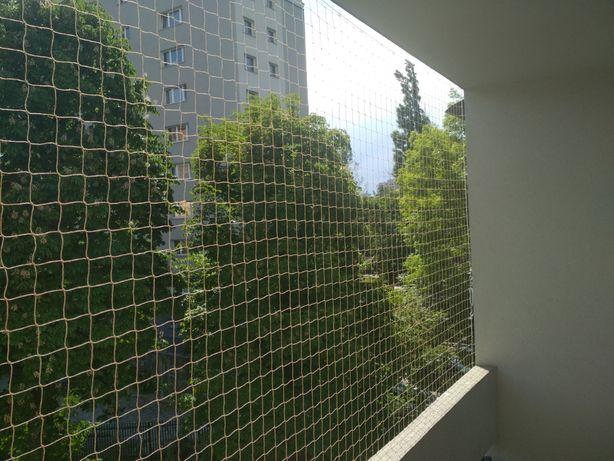 Siatka balkonowa na ptaki, kota, siatka na balkon, siatki balkonowe !