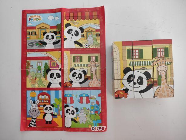 Jogo Blocos do Panda