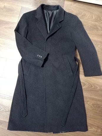 Мужское классическое шерстяное пальто Calvin Cooper
