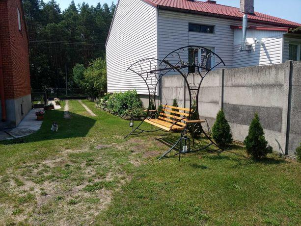 Huśtawka ogrodowa metalowa