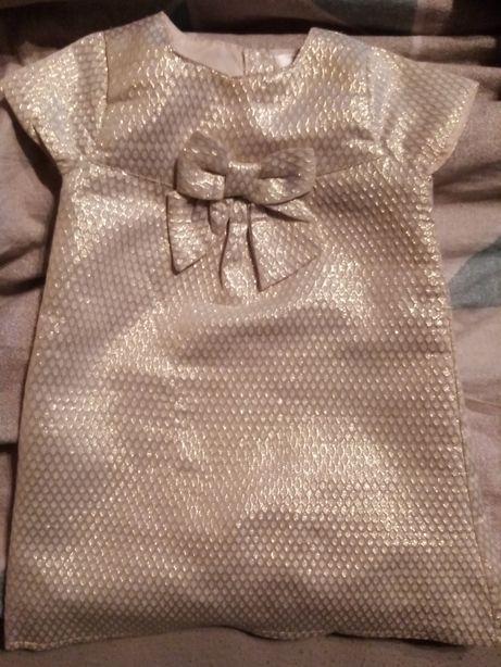 Złota sukienka r 86
