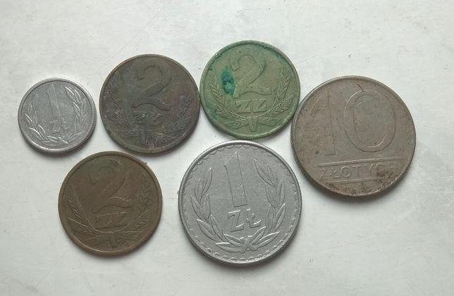Stare monety z PRL-u