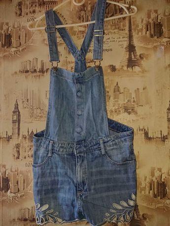 Джинсовые шорты Denim 13-14 /164+ футболка в подарок