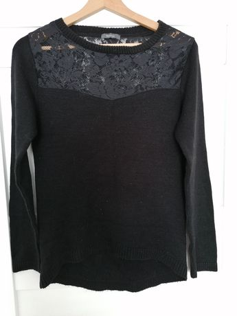 Czarny sweter rozm S