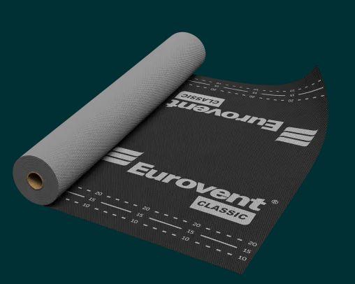 Membrana dachowa EUROVENT CLASSIC 120g/m2 1.5x50m ABAKON