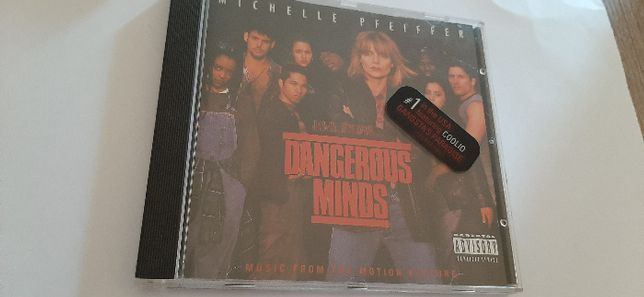 1 CD Dangerous Minds - banda sonora do filme
