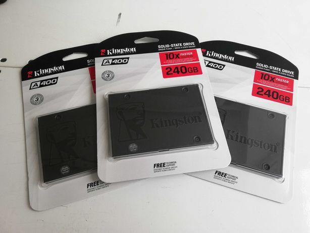 "Kingston SSD A400 240GB 2.5"" SATAIII 3D TLC (SA400S37/240G)"
