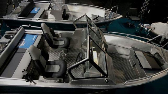 Алюминиевый катер, лодка UMS, TUNA 485DC
