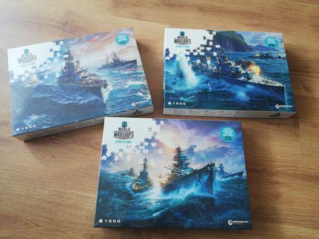 Sprzedam puzzle world of warships