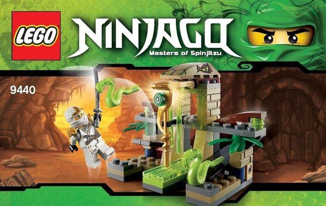 Zestaw Lego Świątynia Venomari 9440