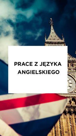 Prace z jezyka angielskiego