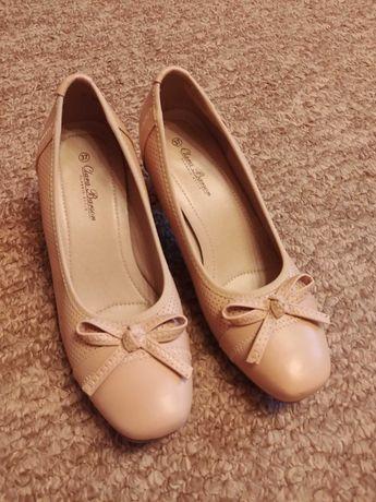 Туфлі жіночі бежеві, 37 розмір