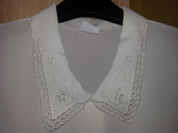 Bluzka damska biała elegancka XXL Nowa Wysyłka gratis