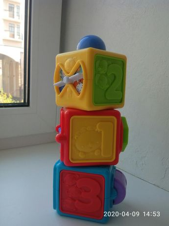 Кубики фишер прайс