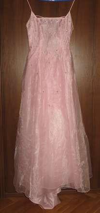 Очень нежное розовое платье.покупала в Америке.фирма morgan and co.